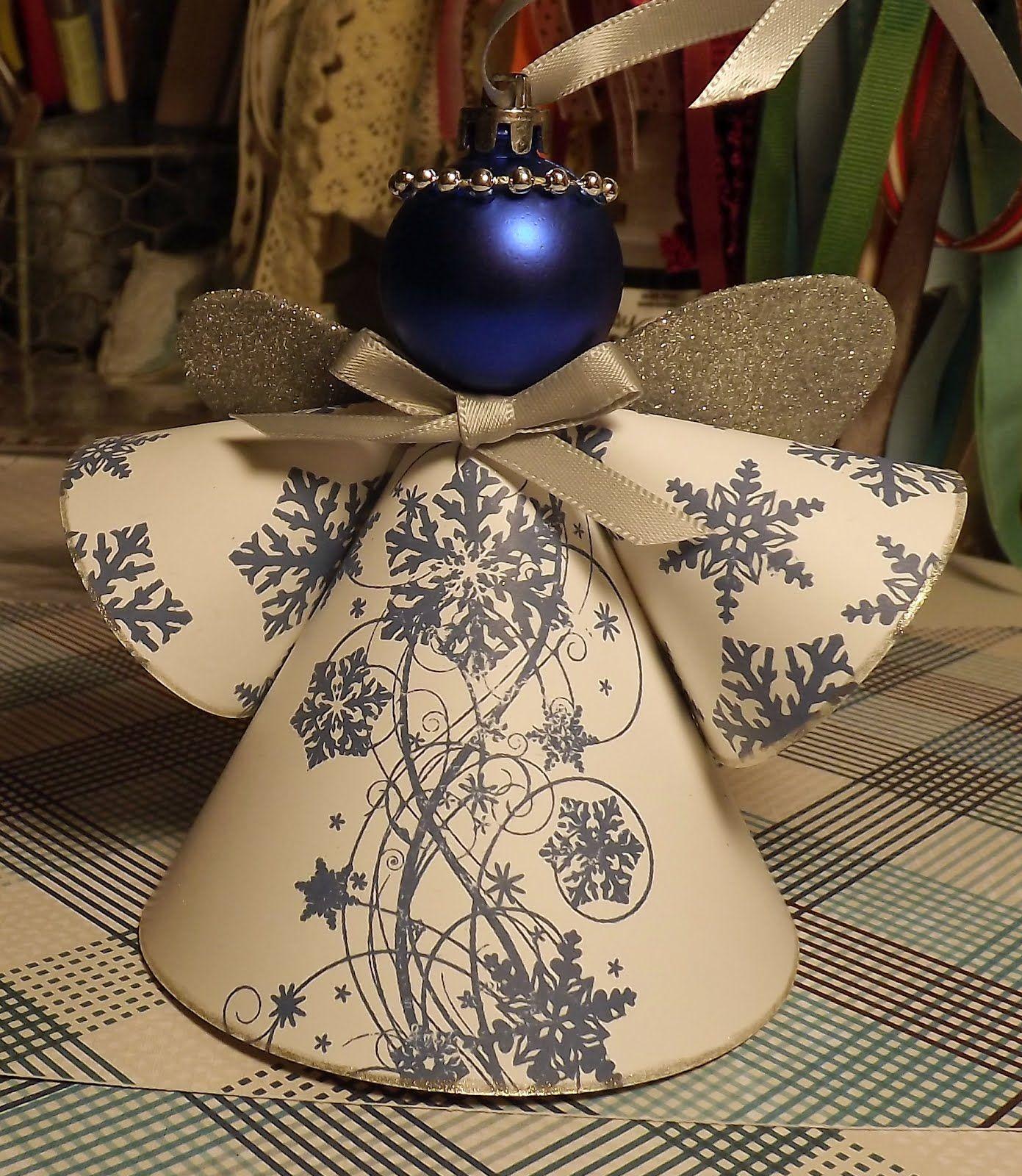 Homemade Angel Christmas Ornaments Christmas Angel