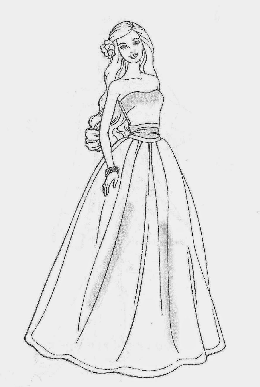 Free Printable Barbie Coloring Pages For Kids 888×1322