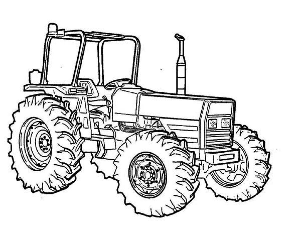Beautiful John Deere Tractor Coloring Pages Coloring Home