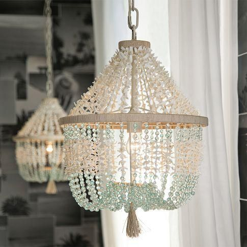 Marbella Chandelier Real Seashells And Coco Beads