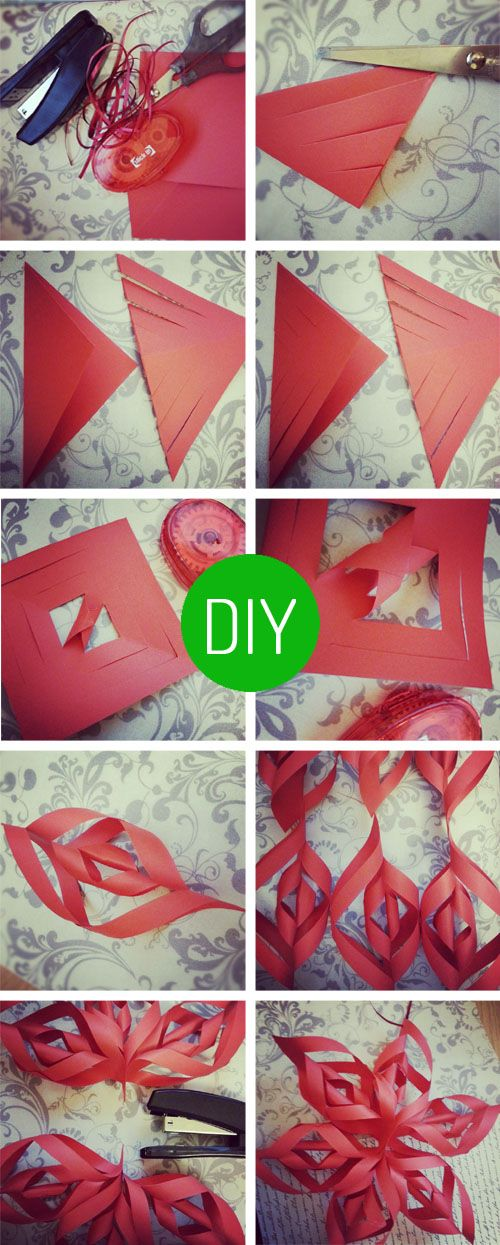 Paper Star Instructions http//www.allthingshandmade