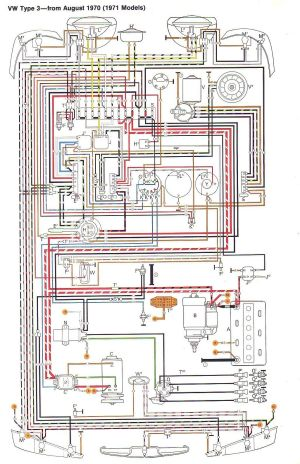 71 VW T3 wiring diagram | Ruthie | Pinterest | Vw, Volkswagen and Engine