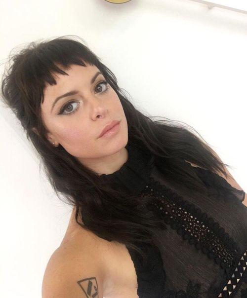 Image result for Sophia Amoruso micro fringe