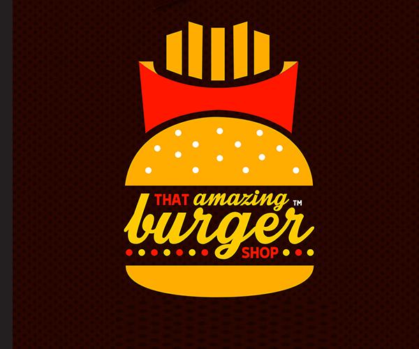 burger logo Pinterest