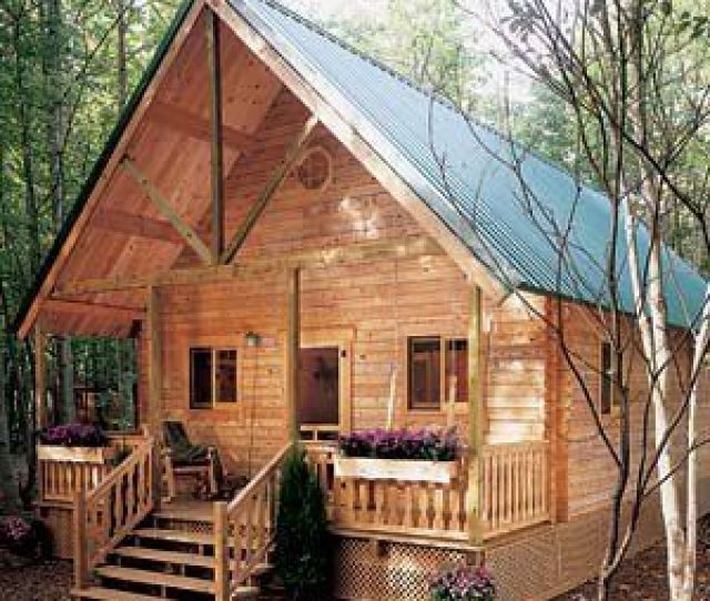 Build Your Own Cabin  No Interior Plans But A Great Breakdown