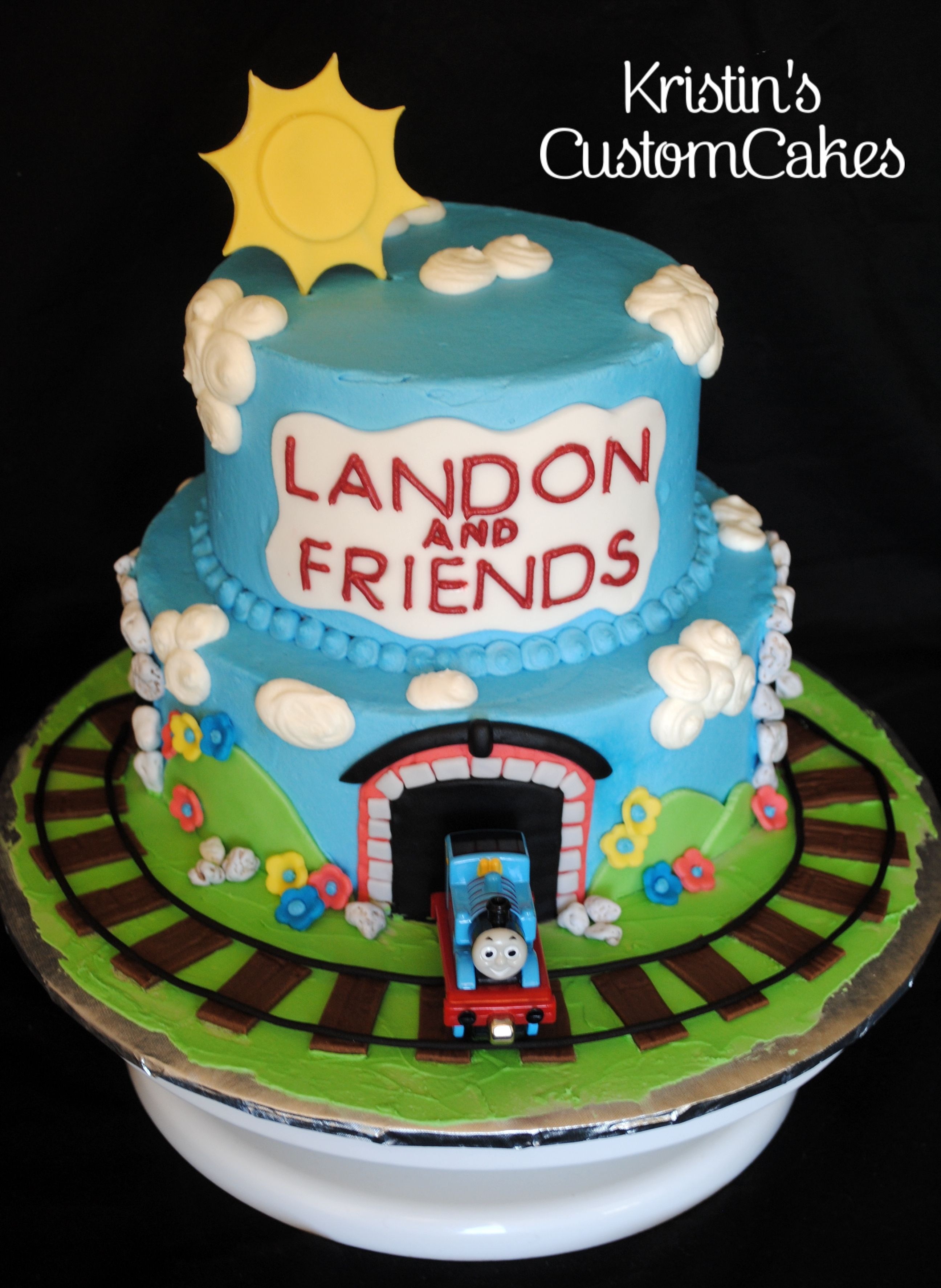 Thomas The Train Cake Facebook Kristinscustomcakes