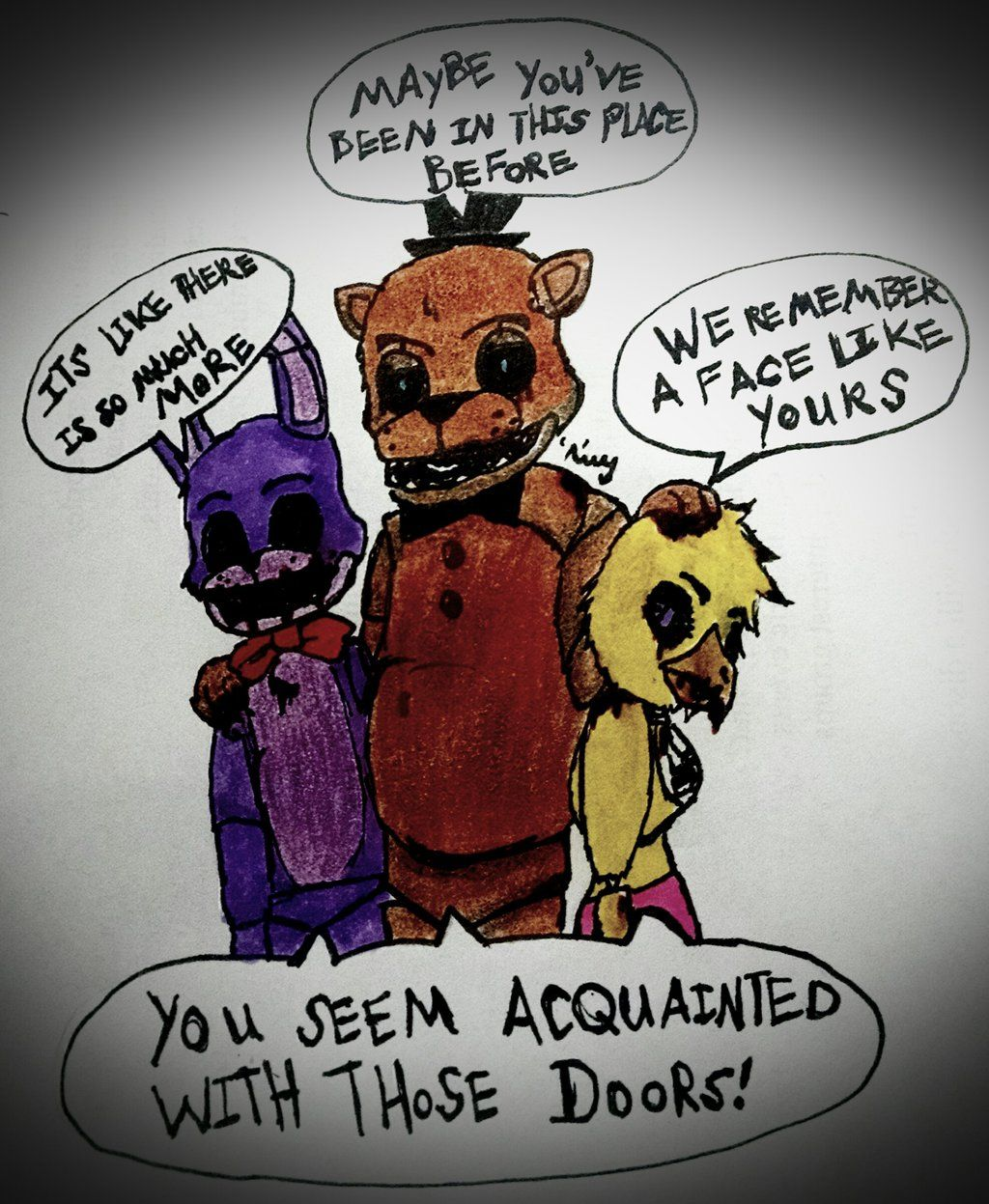 Beautiful Coloring Pages Five Nights At Freddy S 3