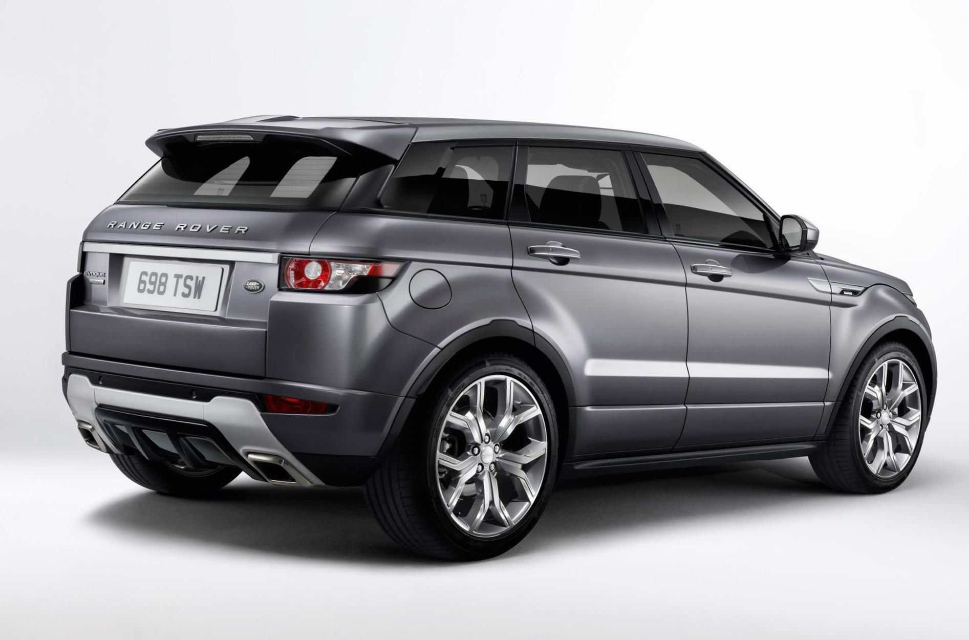 Range Rover Evoque s prestige model in Loire blue This is the