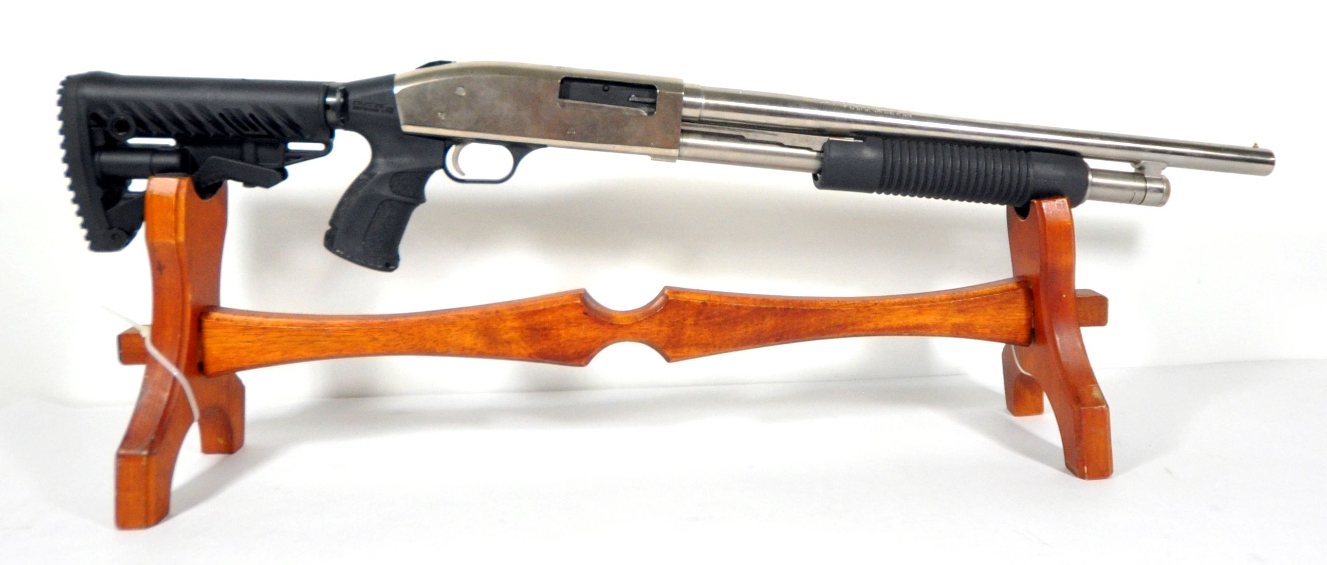 """Mossberg 500A Stainless / Tactical 12ga 18.5"""". This"""