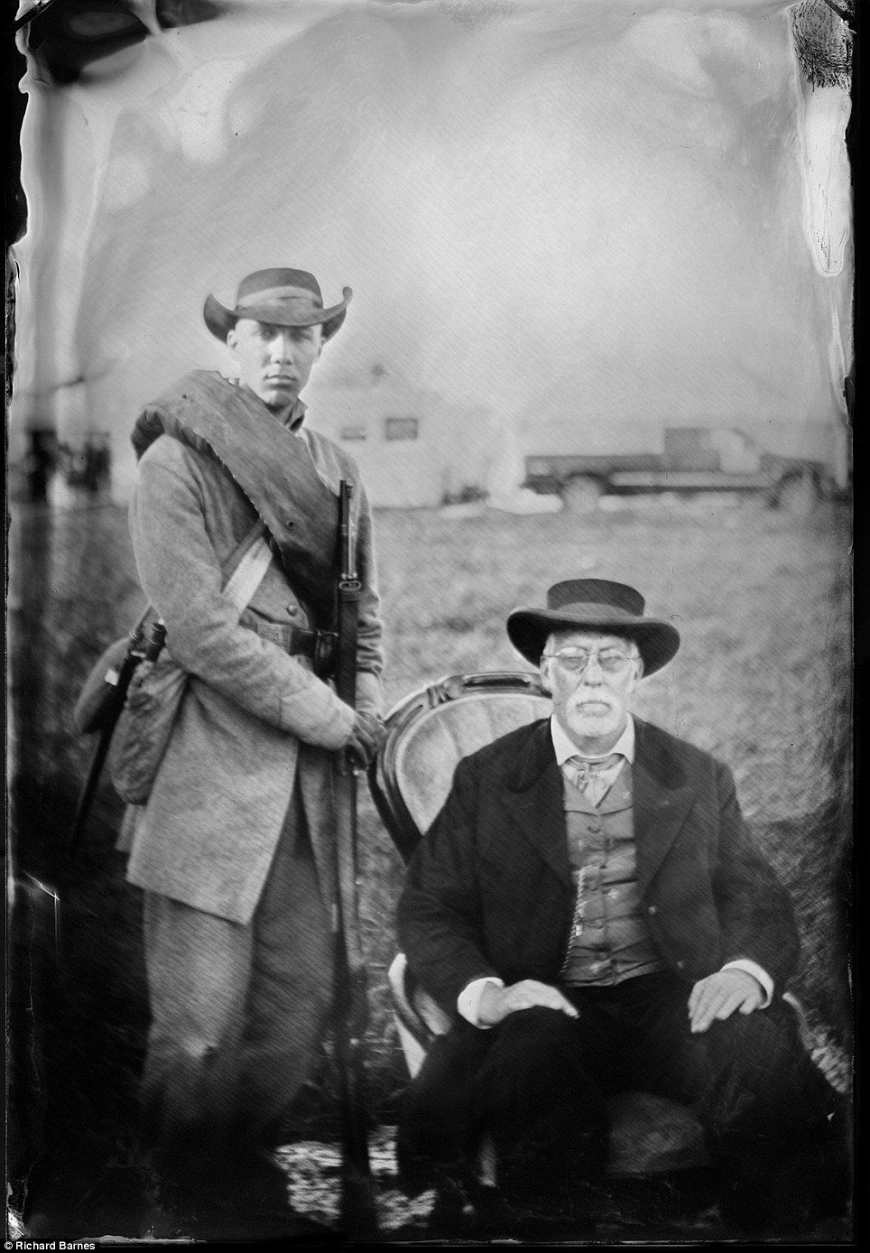 Civil War brought to life Photographer uses period