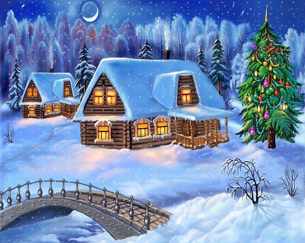 Free Animated Christmas Desktop Wallpaper Free Desktop