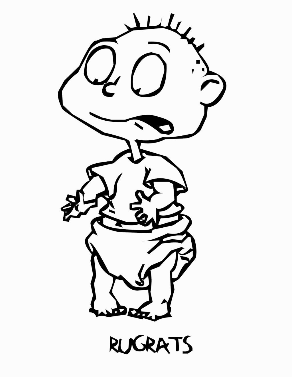 Rugrats Coloring Book Coloring Pages Pinterest Rugrats And