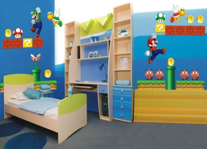 1000 Images About Zachs Bedroom Ideas On Pinterest Super Mario. Super Mario Wallpaper For Bedroom   Bedroom Style Ideas