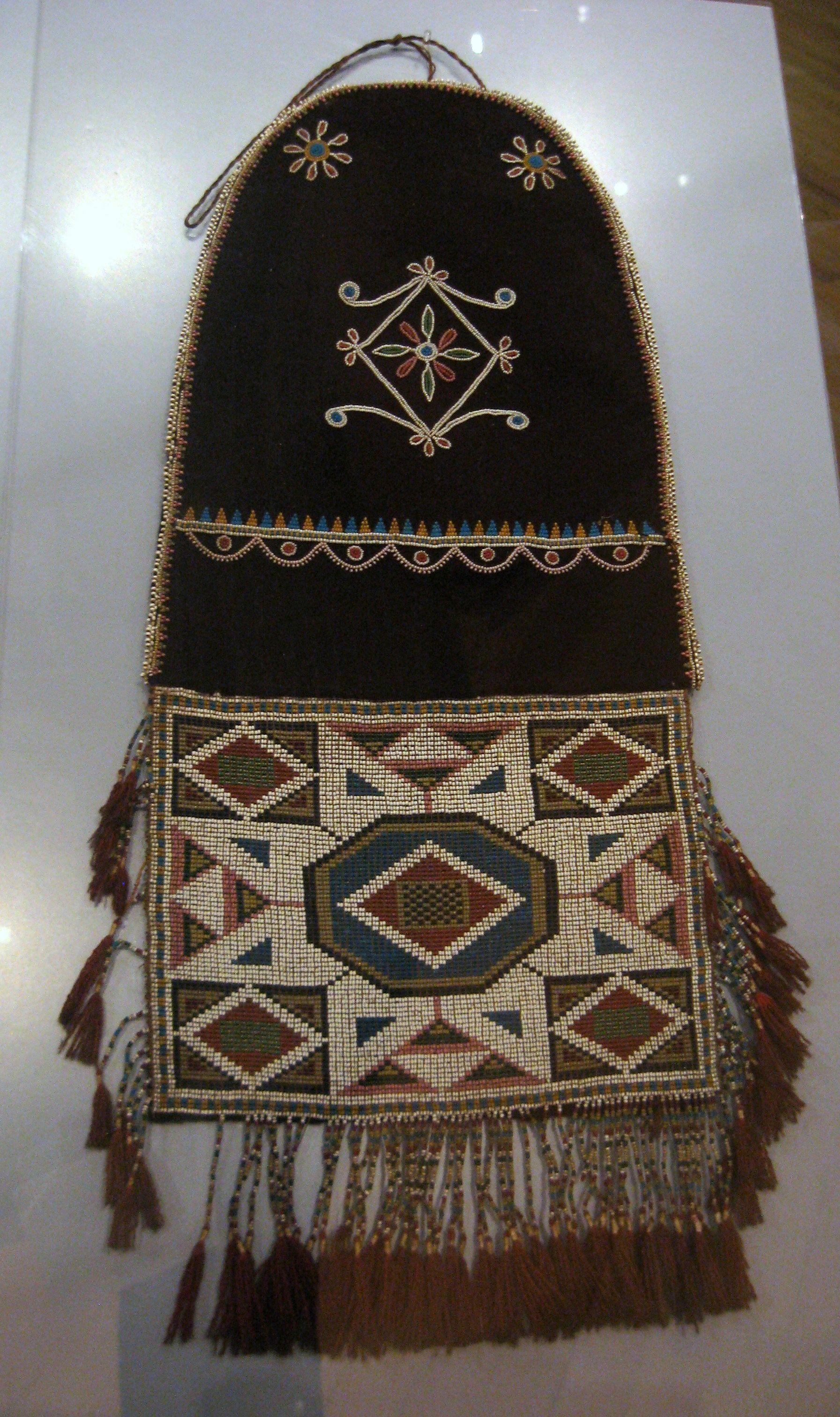 Cree Metis First Nations Bag At The Royal Ontario