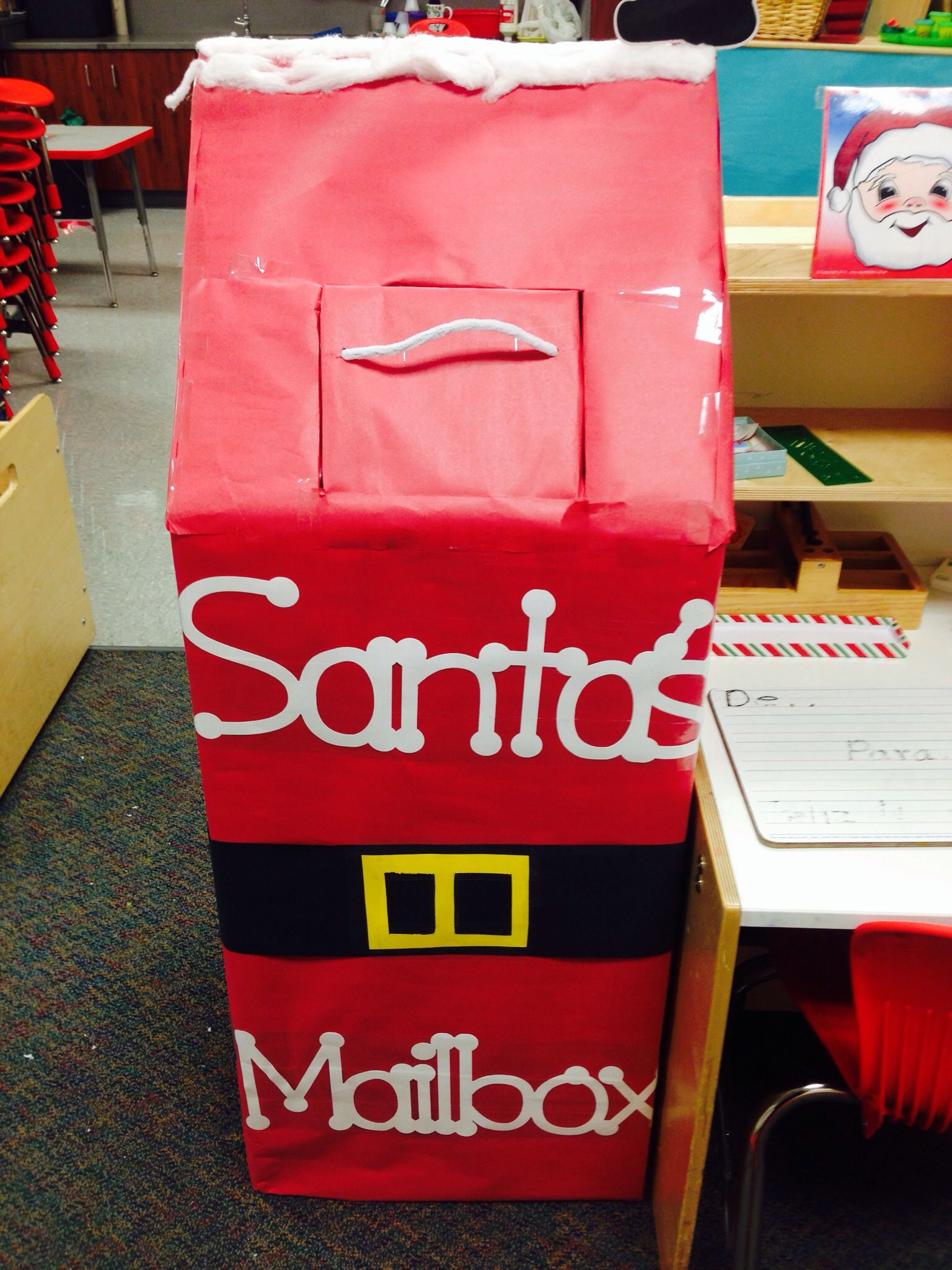 Letters to Santa mailbox Christmas Pinterest Santa
