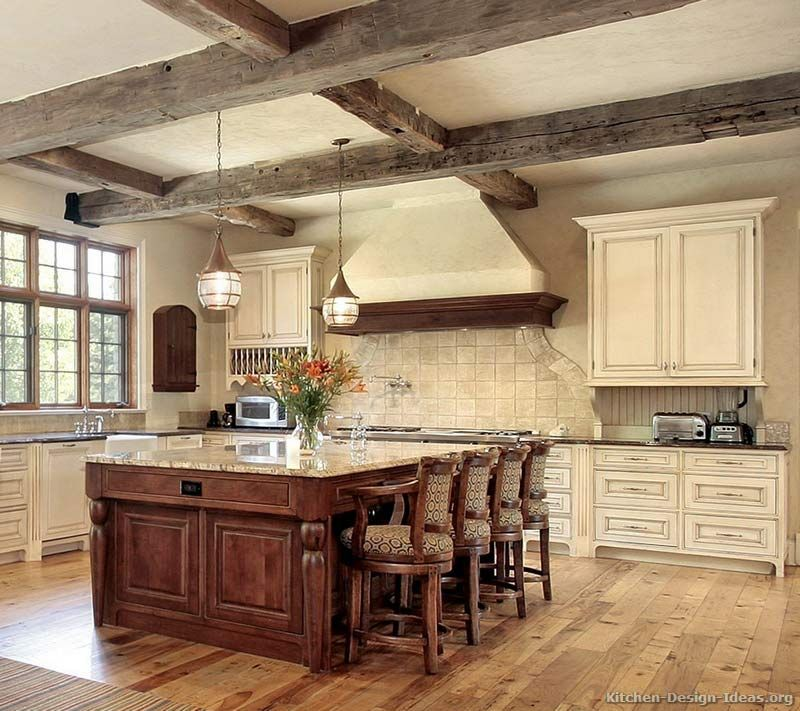 Kitchen of the Week An antique white kitchen with rustic