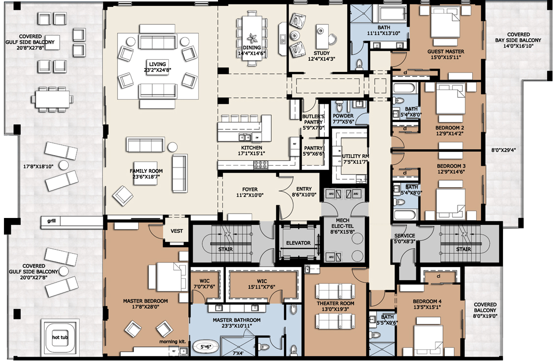 Home--Floorplans: Condos