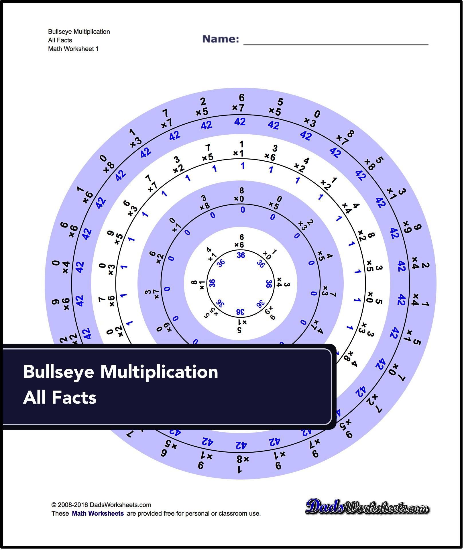 These Practice Multiplication Worksheets Support The