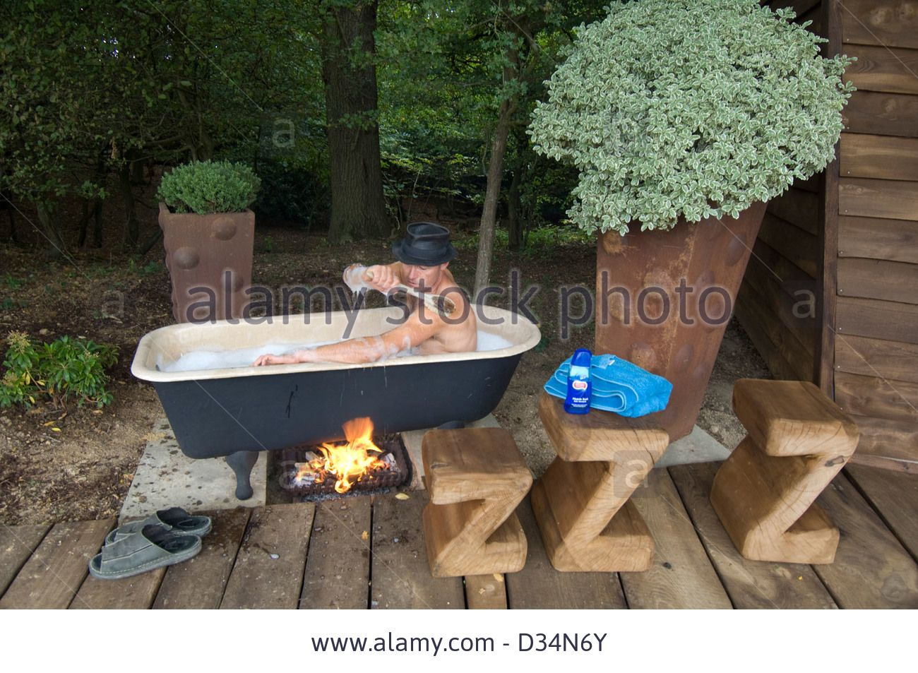 Fire Heated Bath Google Search Backyard Hot Tub
