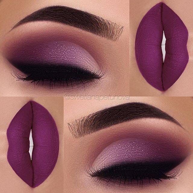 Imagini pentru violet makeup