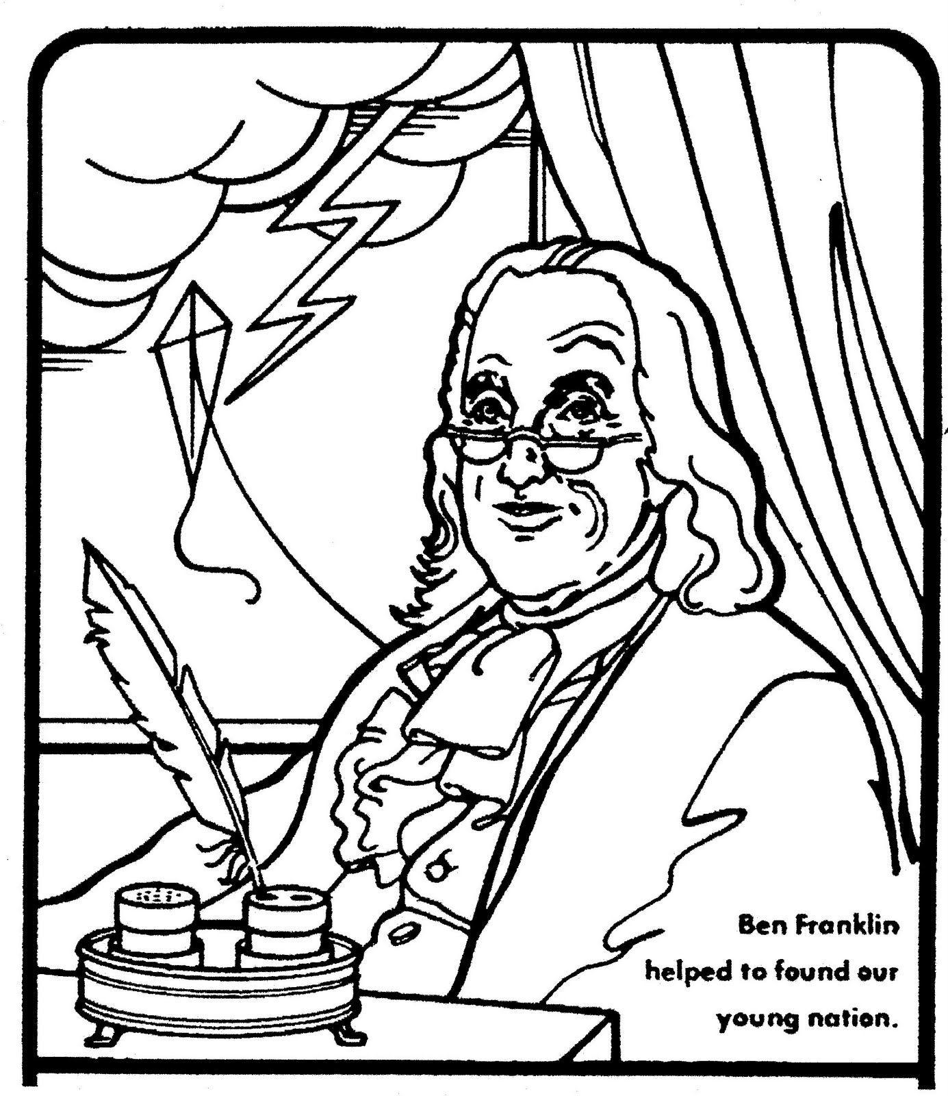 How Do I Write An Outline On Ben Franklin S Kite