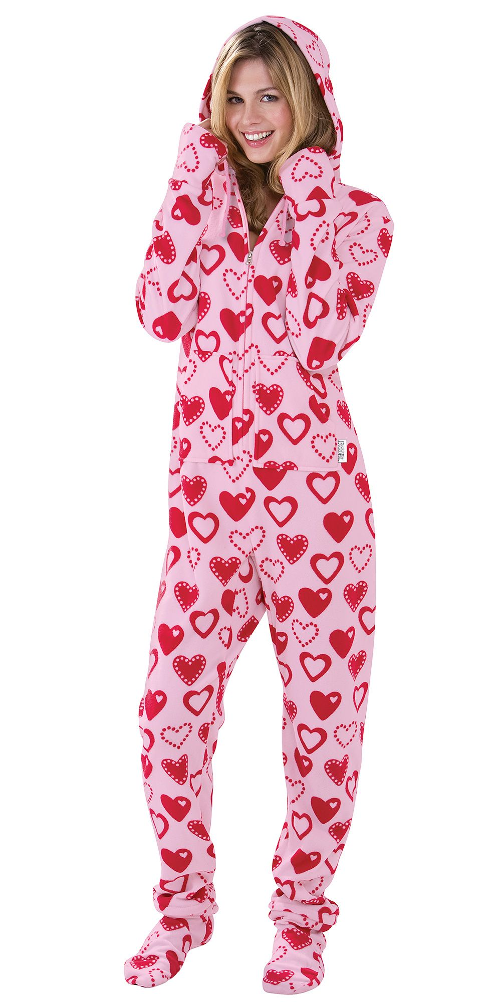 Womens Valentine Pajamas Breeze Clothing