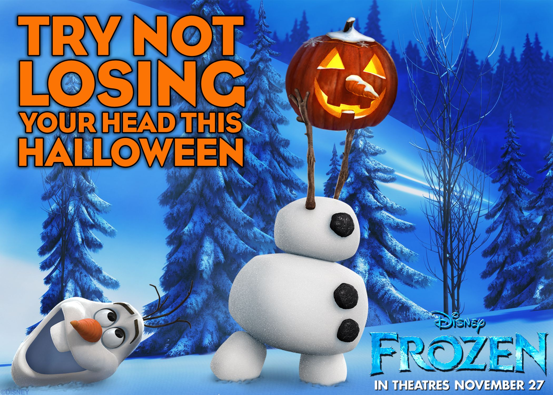 Happy Halloween from Disney's Frozen! Frozen Pinterest