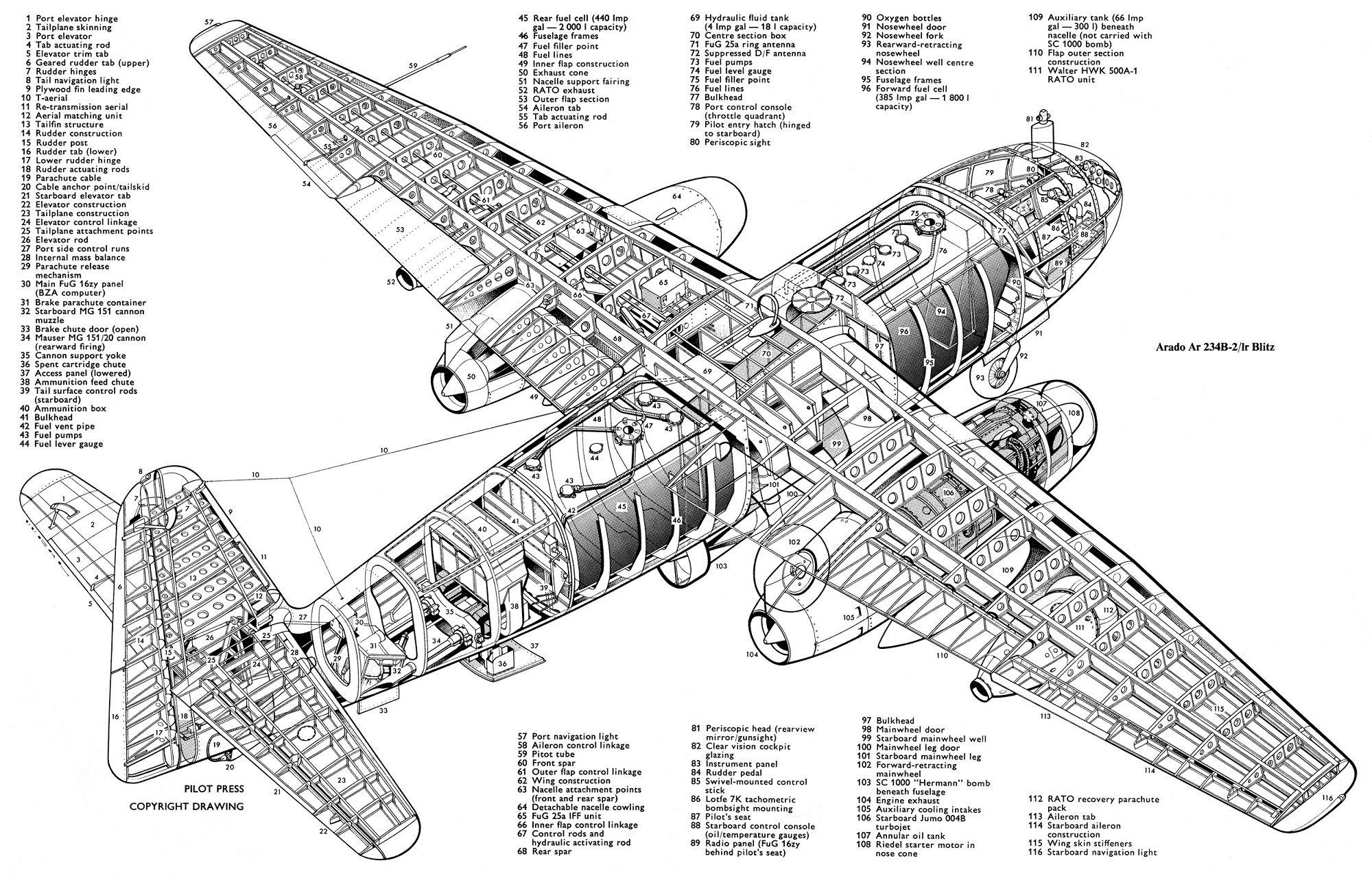 Arado Ar 234b 2 Blitz