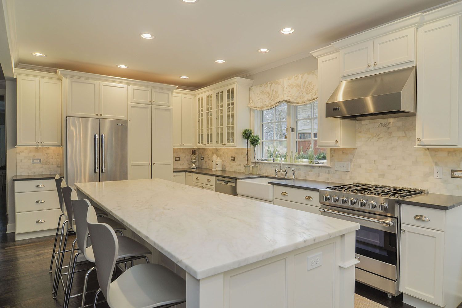kitchen remodeling ideas white cabinetry granite downers grove lisle