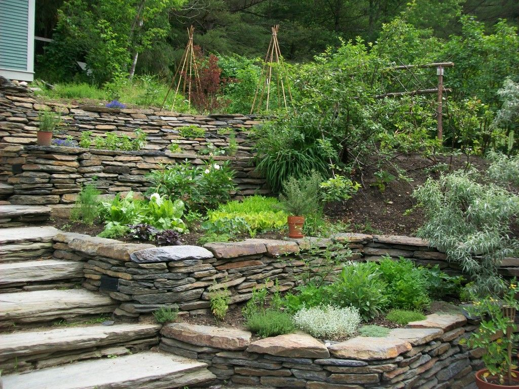 Image result for flagstone wall gardens