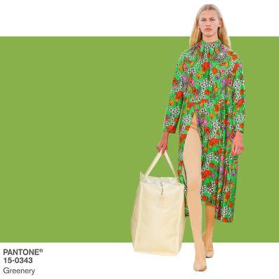 Risultati immagini per greenery moda