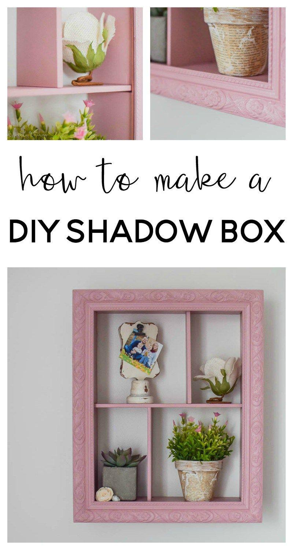 How to Make a DIY Shadow Box Shadow box, Box and