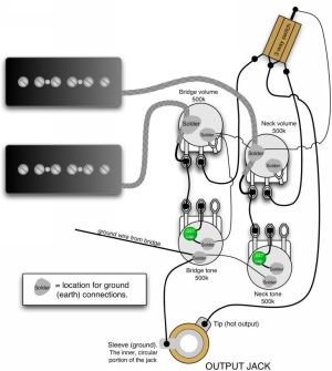 Gibson Les Paul 50s Wiring Diagrams together with Gibson Les Paul 3 Pickup Wiring Diagram