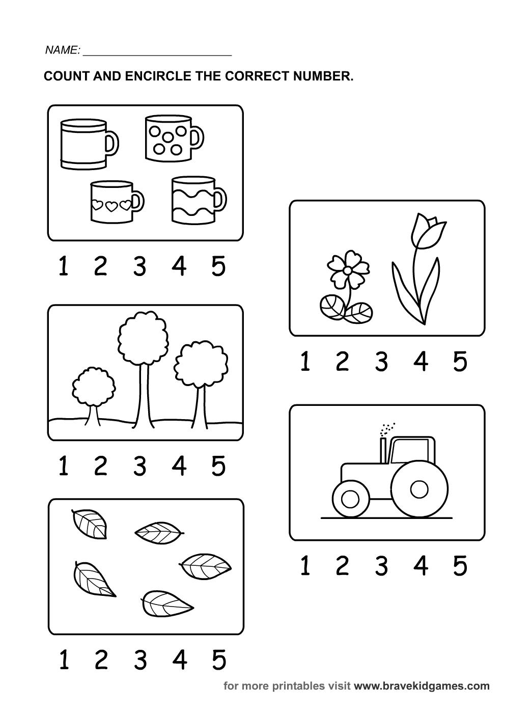 Encircle Number
