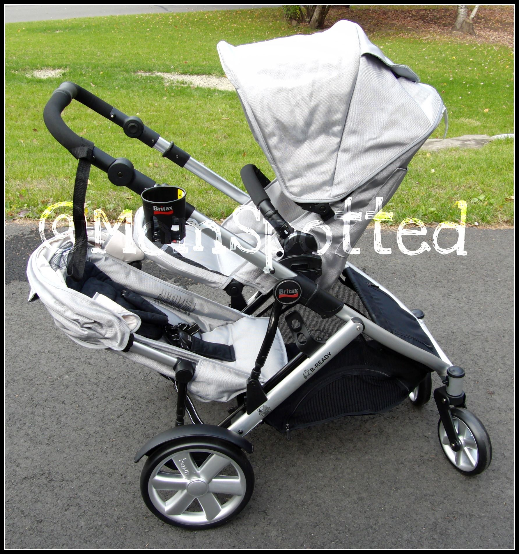 Britax BReady Stroller with Second Seat Review Double