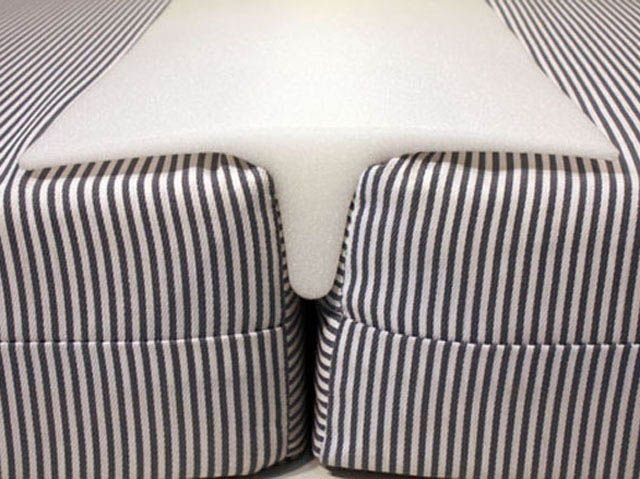 Foam Bed Bridge To Make A King Size With 2 Custom Twins Soft For
