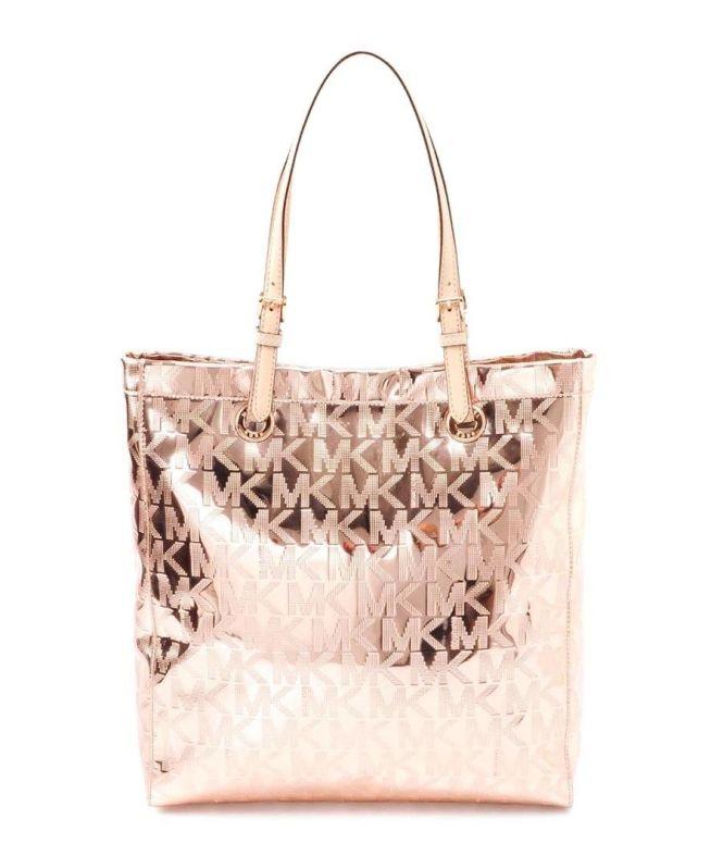 91ced532308b5 ... Michael Kors Bag On Best Metallic Tote Bags Ideas Michael kors Signature  ...