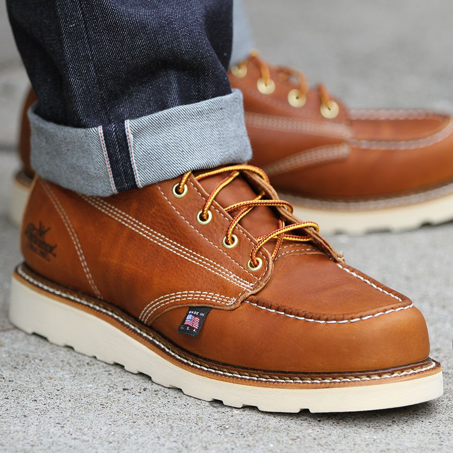 Thorogood 8 in Moc Toe Boot Massdrop Men's Style
