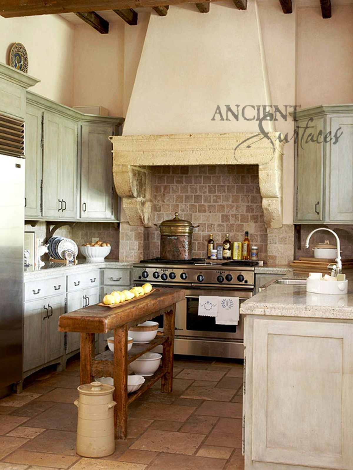 Best Kitchen Gallery: Add Some Warmth To Your Kitchen With One Of Our Antique Stone of Stone Kitchen Hood Style on rachelxblog.com