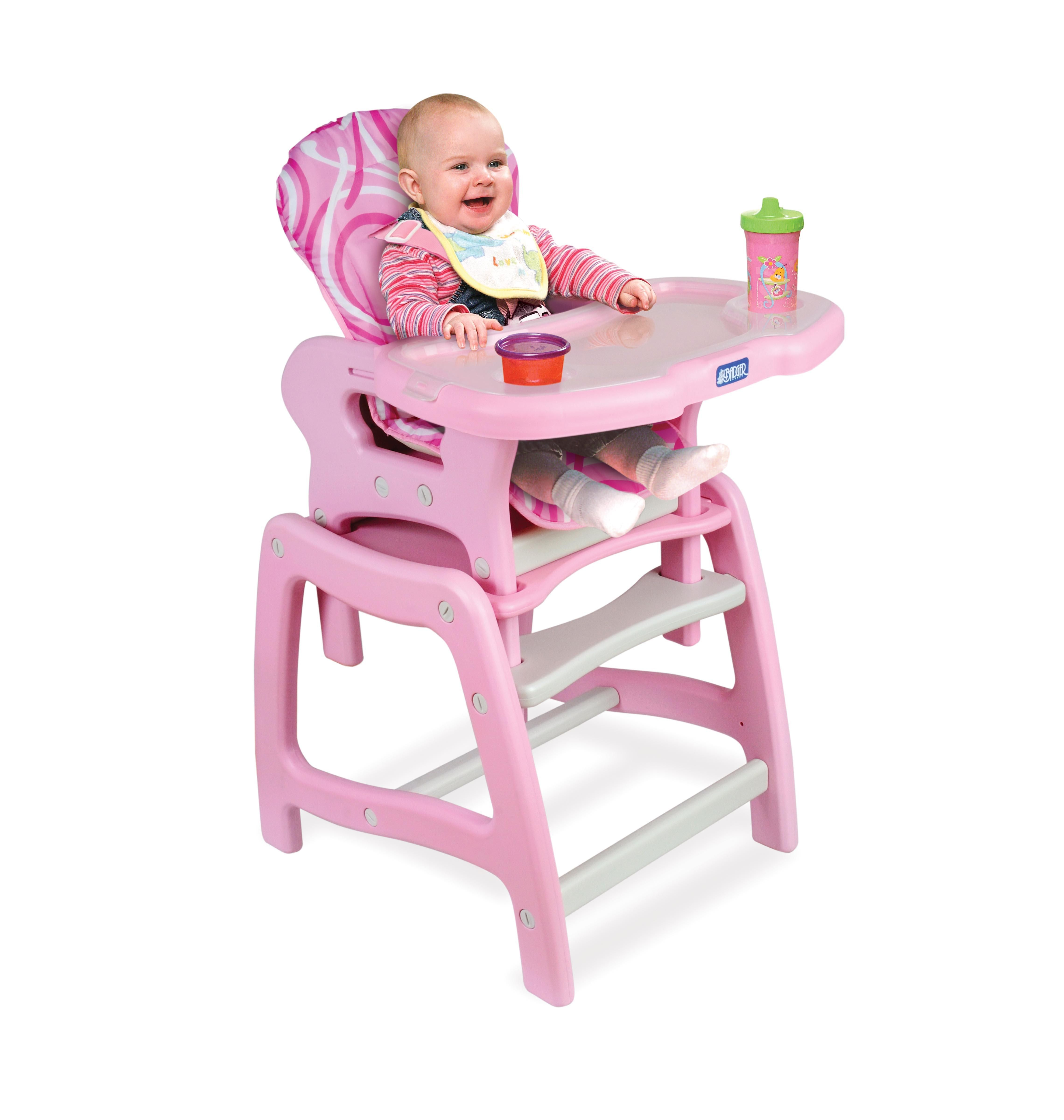 16 Cute Baby High Chairs for Boys and Girls Sweet Pink