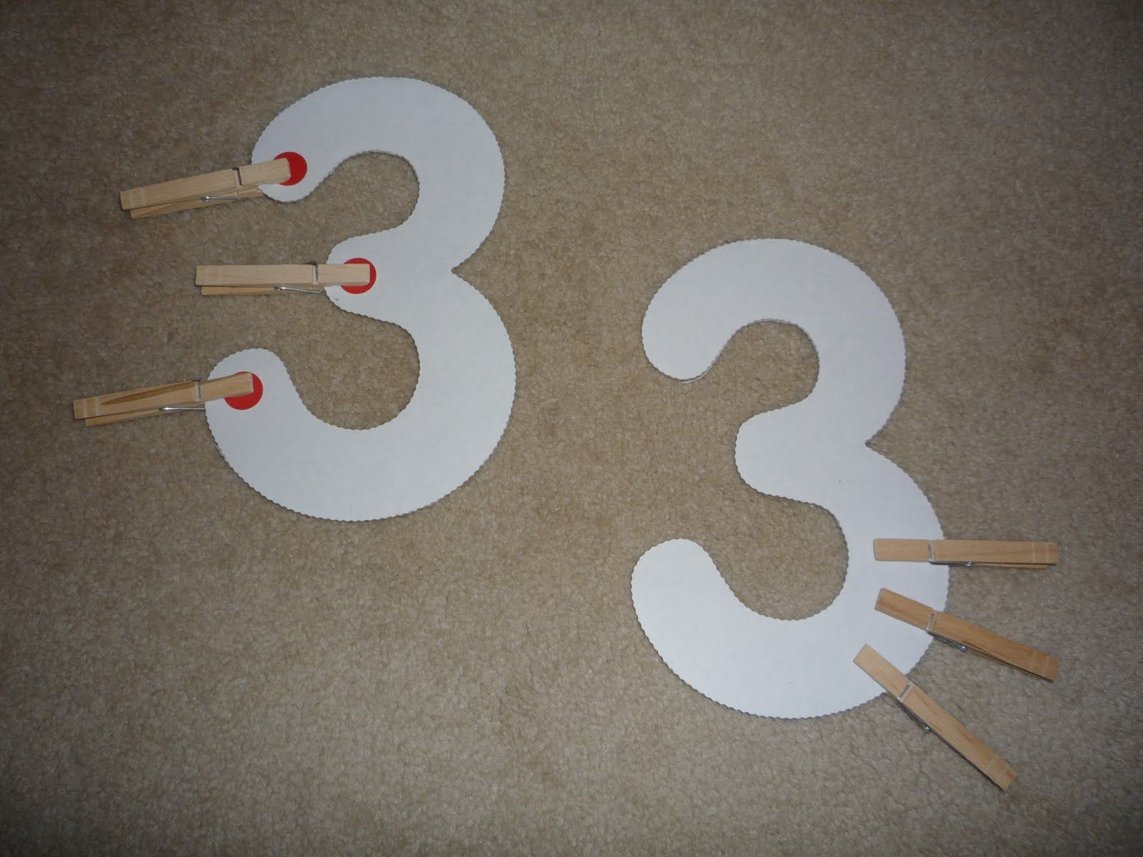 Counting Center The Dots Would Be Perfect For Touch Math Worksheets