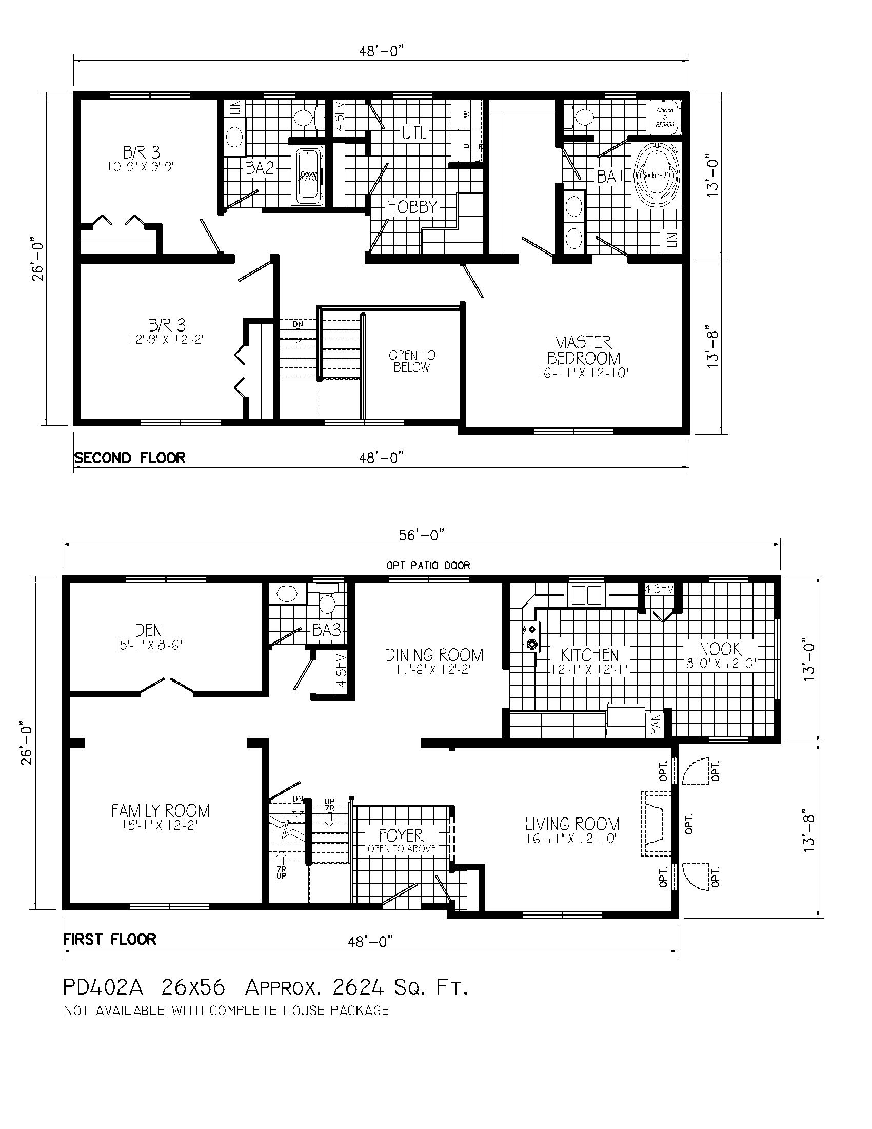 Lovely Residential House Plans House Floor Ideas
