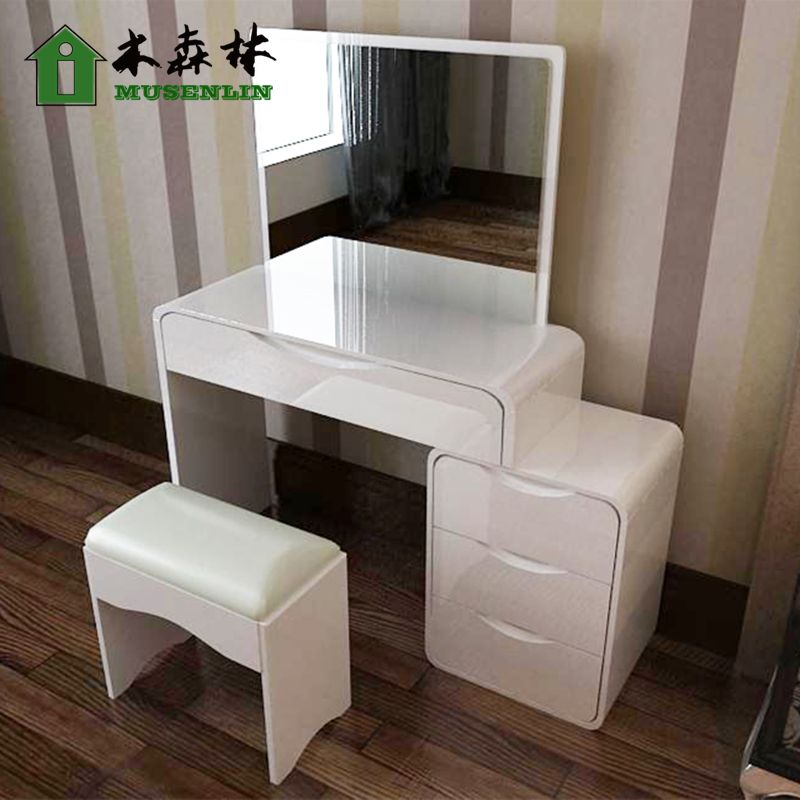 Trendy Moderne Minimaliste Blanc Brillant Peinture Piano