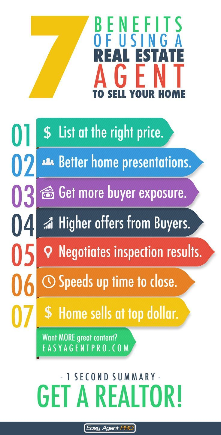 7 benefits of using a real estate agent to sell your home