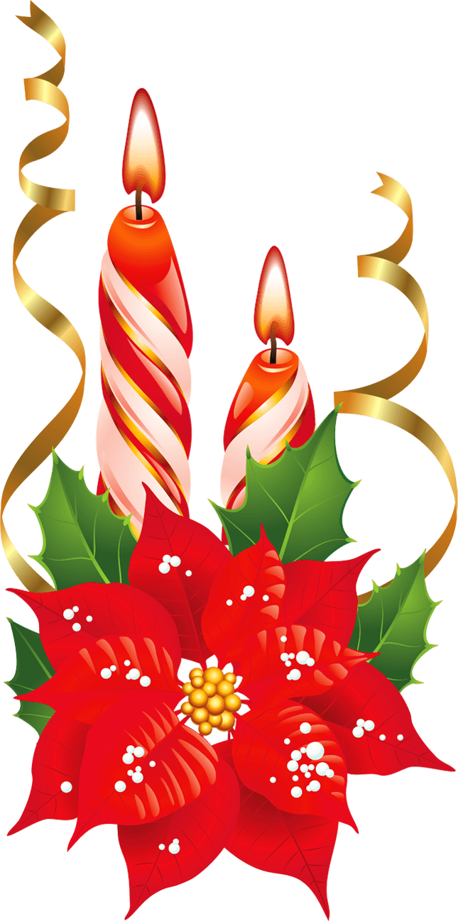 Christmas Candle Clipart christmas candles clipart free