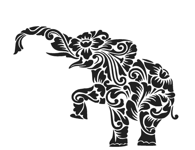 elephant cut file Google Search SVG Files Pinterest