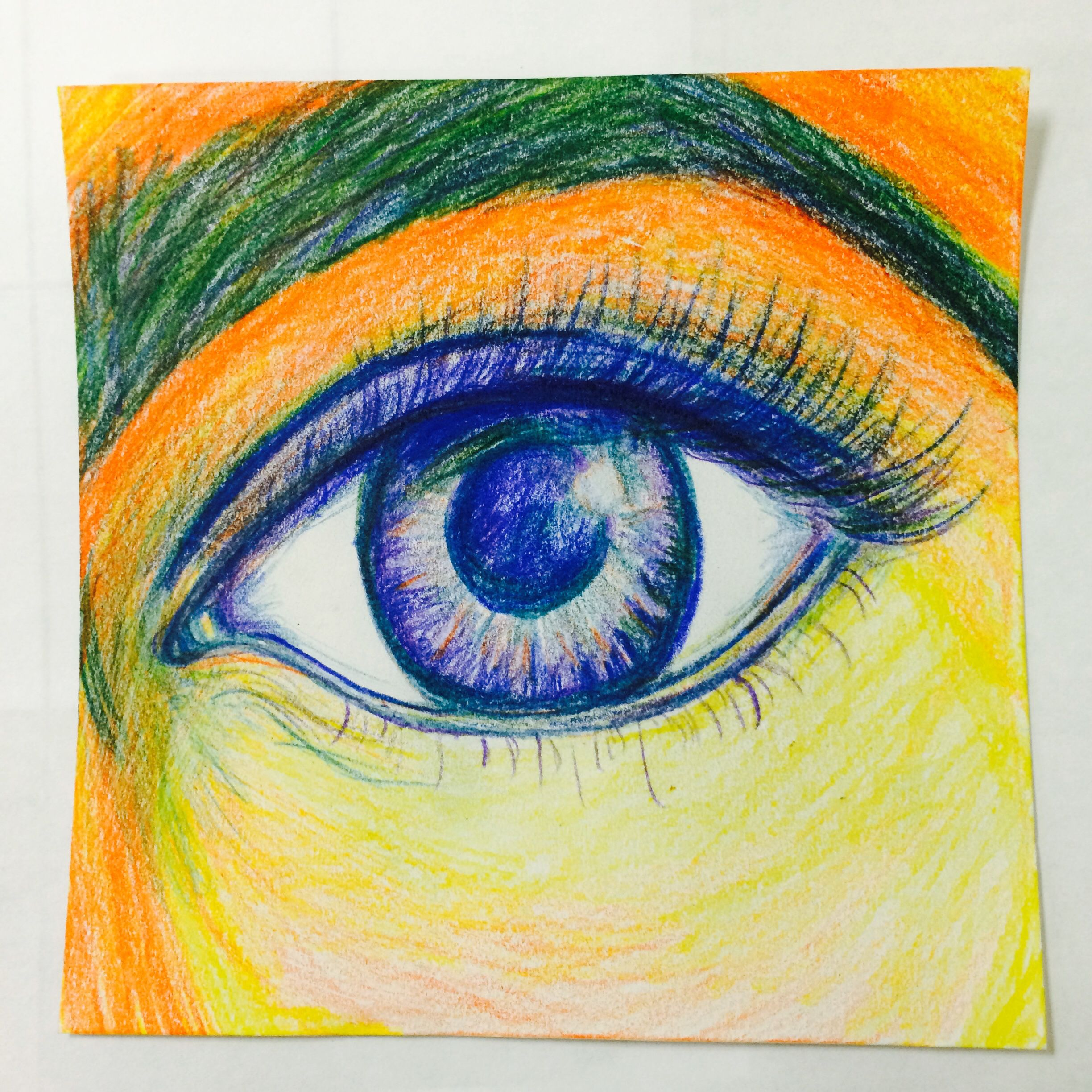 Fauvism Meets Realism Expressive Eye Project 8x8 Ms