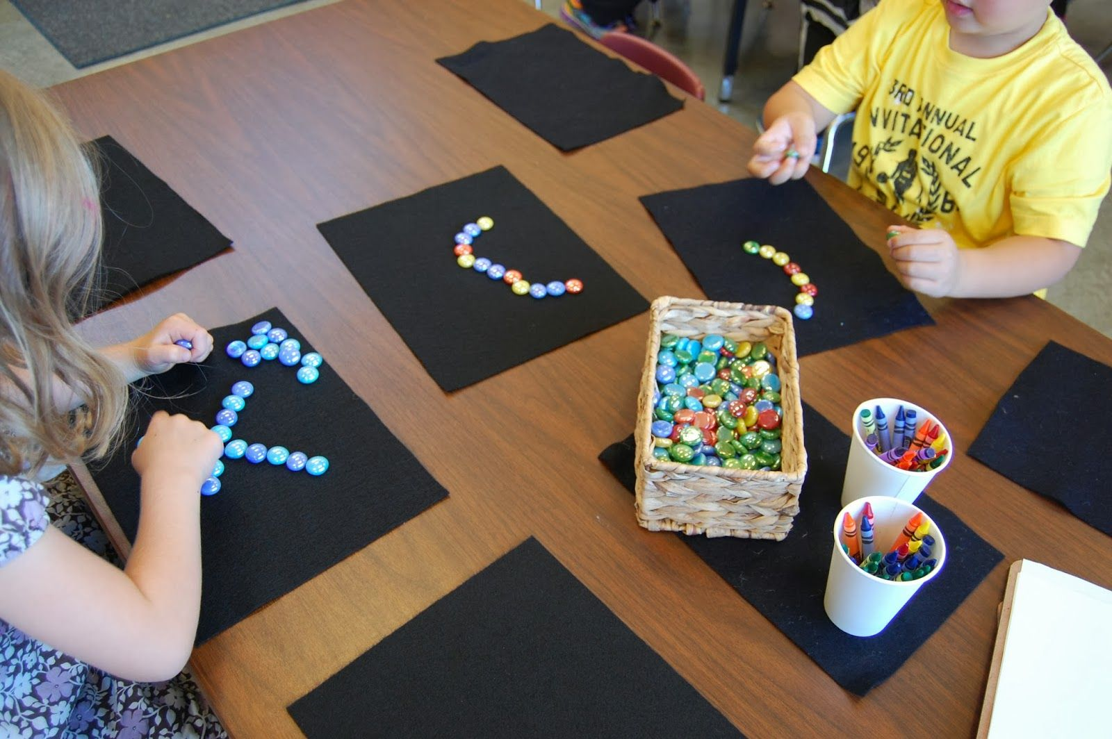 What Different Patterns Can You Make Mathematical Intention Creating Repeating Patterns Using