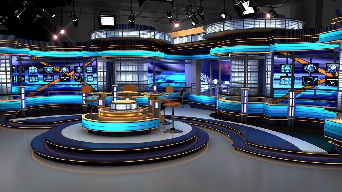 tv broadcasting studio design Google Search Studios