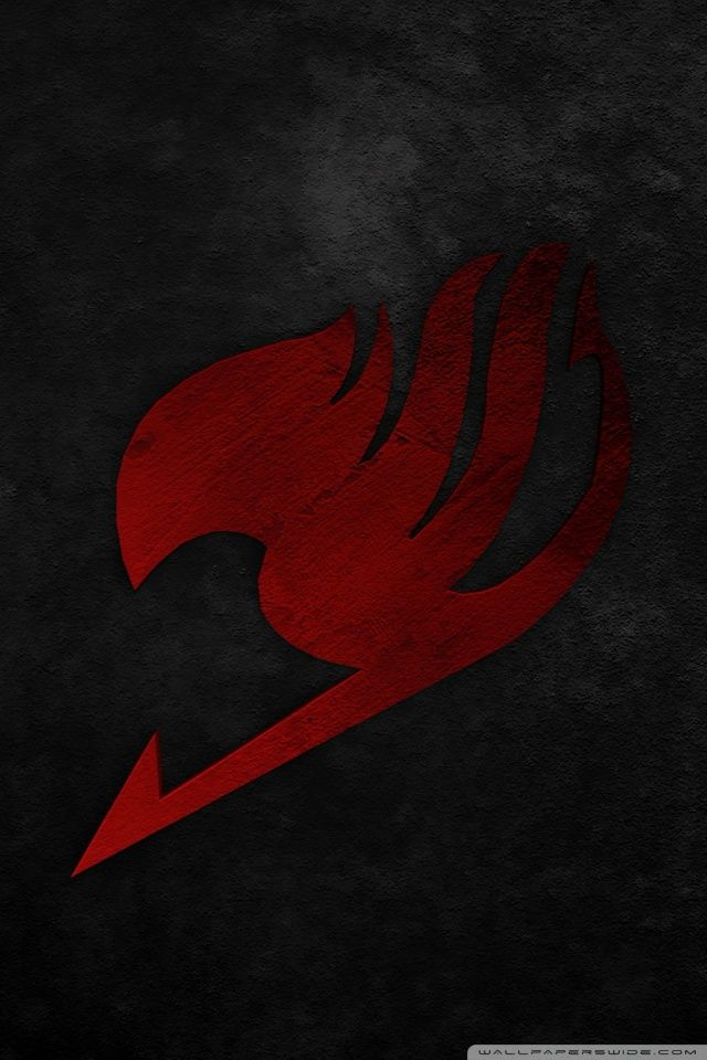 fairy tail logo wallpaper hd iphone gendiswallpapercom